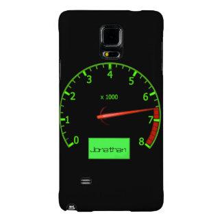 Customizable name gearhead car Fan Galaxy Note 4 Case
