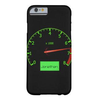 Customizable name gearhead car Fan iPhone 6 Case
