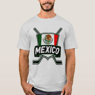 Customizable Name & Number Mexican Hockey T-Shirt