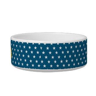Customizable Name on Stars Pattern Bowl