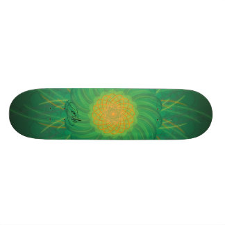 Customizable Nature (Psychedelic spirograph) Skateboard Deck