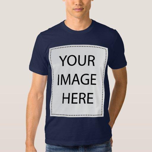 Customizable navy american apparel t shirt zazzle for American apparel design your own shirt
