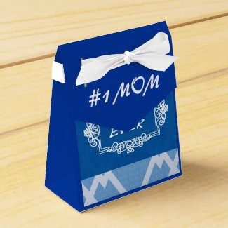 Customizable Navy Blue Best Mom ever
