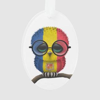 Customizable Nerdy Andorran Baby Owl Chic