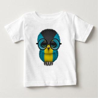 Customizable Nerdy Bahamas Baby Owl Chic T-shirt