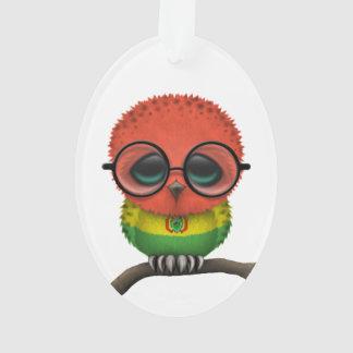 Customizable Nerdy Bolivian Baby Owl Chic