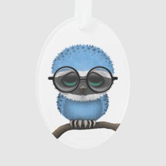Customizable Nerdy Botswana Baby Owl Chic