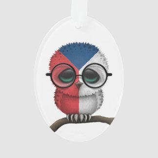Customizable Nerdy Czech Baby Owl Chic