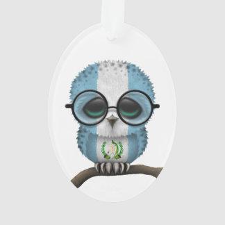 Customizable Nerdy Guatemalan Baby Owl Chic