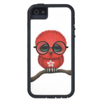 Customizable Nerdy Hong Kong Baby Owl Chic iPhone SE/5/5s Case