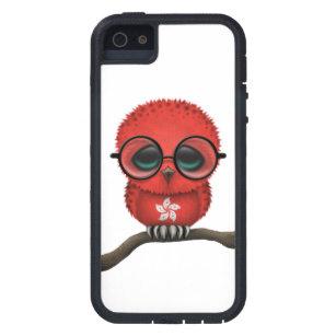 Customizable Nerdy Hong Kong Baby Owl Chic iPhone SE/5/5s Case