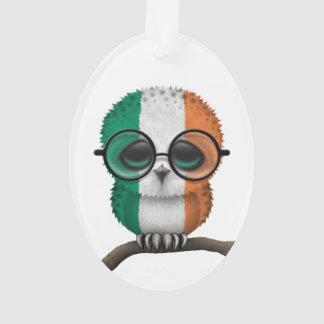Customizable Nerdy Irish Baby Owl Chic