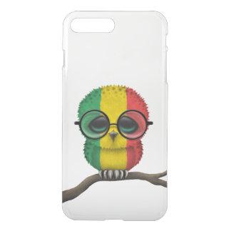 Customizable Nerdy Mali Baby Owl Chic iPhone 8 Plus/7 Plus Case
