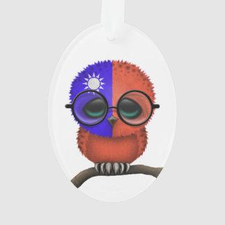 Customizable Nerdy Taiwanese Baby Owl Chic