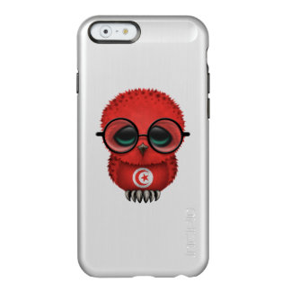 Customizable Nerdy Tunisian Baby Owl Chic Incipio Feather Shine iPhone 6 Case