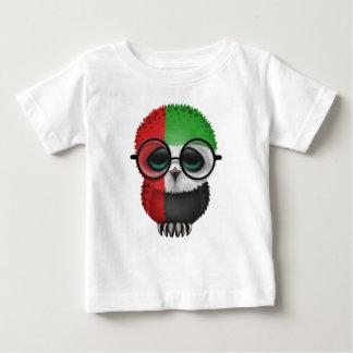 Customizable Nerdy United Arab Emirates Baby Owl T Shirt