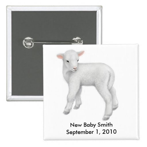 Customizable New Baby Pin