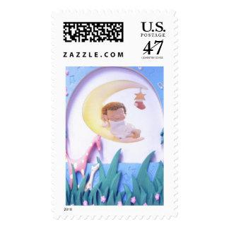 Customizable New Baby Stamp