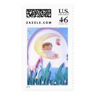 Customizable New Baby Stamp stamp