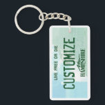 """Customizable New Hampshire license plate keychain<br><div class=""""desc"""">Customizable New Hampshire license plate keychain</div>"""