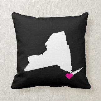 Customizable New York State Love Reversible Pillow