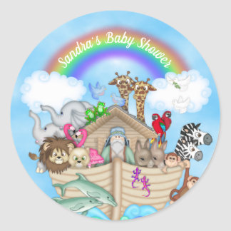 Customizable Noah's Ark Stickers
