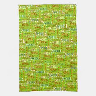 Customizable Noel Christmas Towel