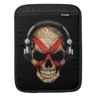 Customizable Northern Ireland Dj Skull Sleeves For iPads