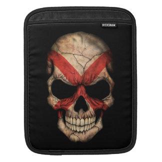 Customizable Northern Ireland Flag Skull Sleeves For iPads