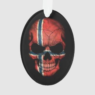 Customizable Norwegian Flag Skull