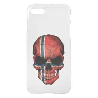 Customizable Norwegian Flag Skull iPhone 7 Case