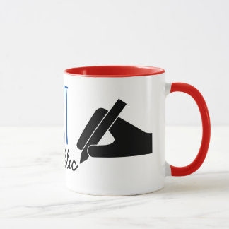 Customizable Notary Public Poised Pen Mug