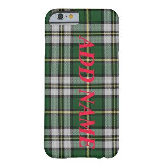 customizable NovaScotia Cape Breton Tartan custom Barely There iPhone 6 Case