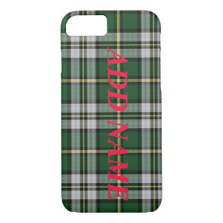 customizable NovaScotia Cape Breton Tartan custom iPhone 7 Case