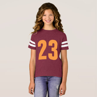 Customizable Number 23 tshirt design change number