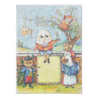 Customizable Nursery Rhyme poster