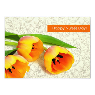 "Customizable Nurses Day Greeting Cards 5"" X 7"" Invitation Card"