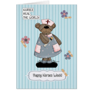 Customizable Nurses Week Greeting Cards