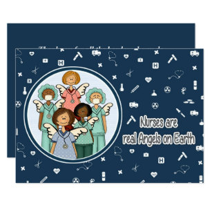 National nurses week invitations announcements zazzle customizable nurses week greeting cards m4hsunfo Image collections