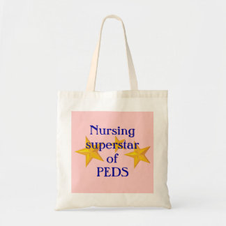 Customizable Nursing Superstar Tote Bag