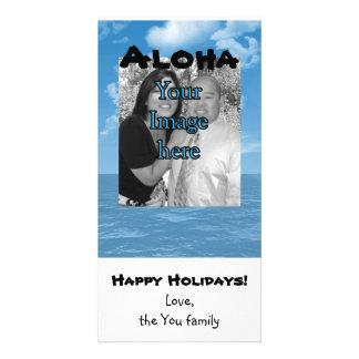 Customizable Ocean photo card