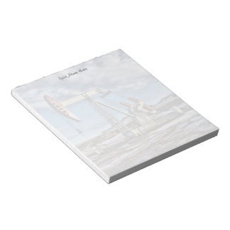 Customizable Oil Well Image Notepad