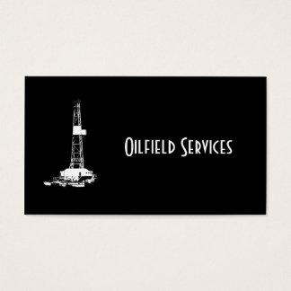 Customizable Oilfield Business Card
