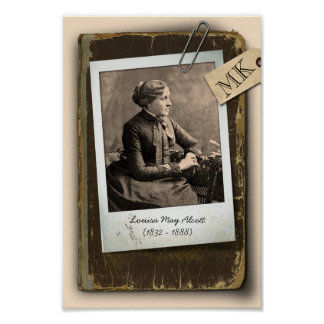 Customizable Old Book Vintage Photo Frame Poster