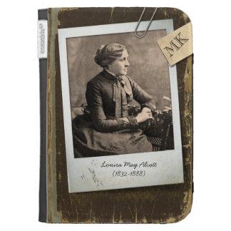 Customizable Old Vintage Book Author Polaroid Pic Kindle 3 Case