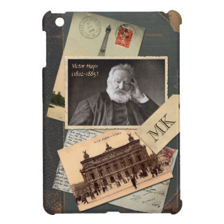 Customizable Old Vintage Book Author Postcard Pic Cover For The iPad Mini
