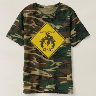 Customizable Old West Gunslinger XING T-shirt