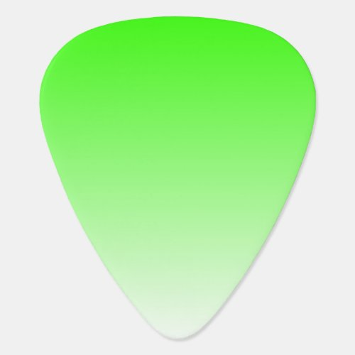 Customizable Ombre Background Guitar Pick