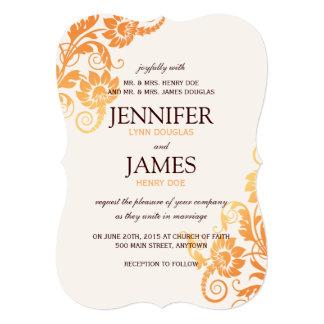 Customizable Ombre Fall Wedding Invitations