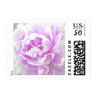 Customizable Orchid Lavender Peony Postage Stamps
